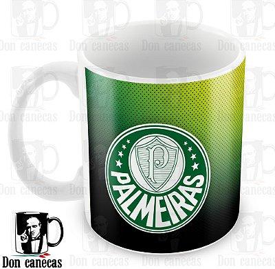 Caneca Branca - Palmeiras - Fundo