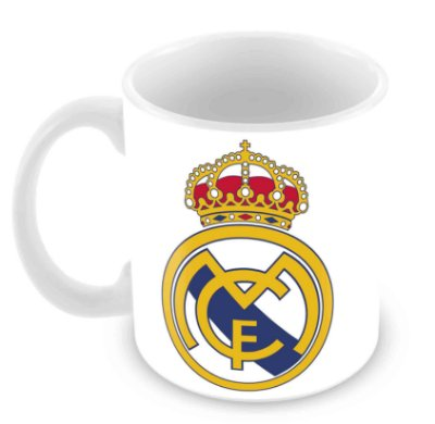 Caneca Branca - Real Madrid