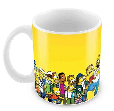 Caneca Branca - Os Simpsons