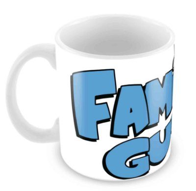 Caneca Branca - Family Guy - Logo