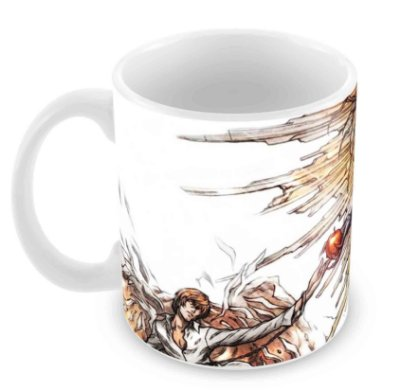 Caneca Branca - Death Note - Demon