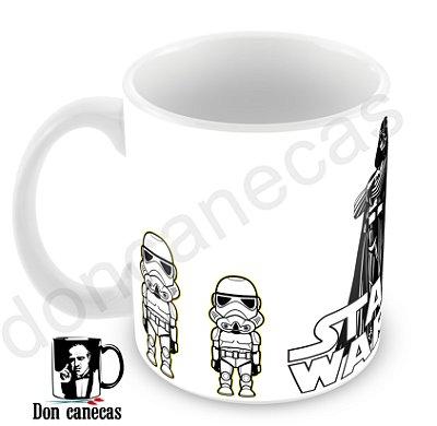 Caneca Branca - Star Wars - Oferta Única