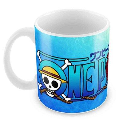 Caneca Branca - One Piece