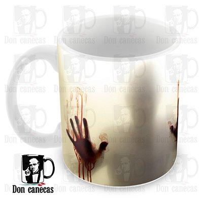 Caneca Branca - The Walking Dead (Mãos) - Oferta Única