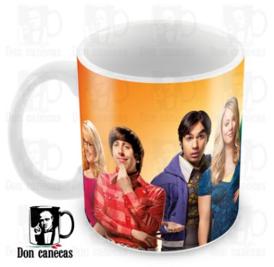 Caneca Branca - The Big Bang Theory - Oferta Única