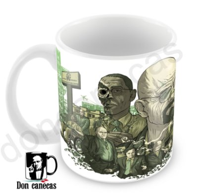 Caneca Branca - Breaking Bad - Oferta Única