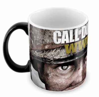 Caneca Mágica - Call of Duty - WWII