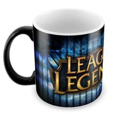 Caneca Mágica - League of Legends - Logo B