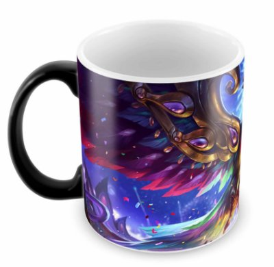 Caneca Mágica - League of Legends - Agui