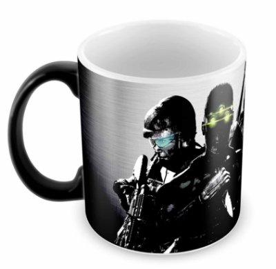 Caneca Mágica - Splinter Cell