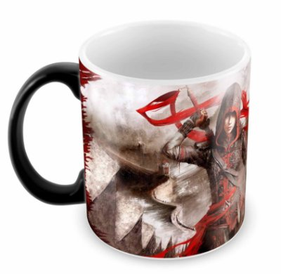Caneca Mágica - Assassins Creed - Woman