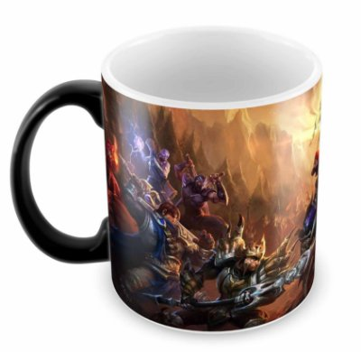Caneca Mágica - League of Legends - Batalha