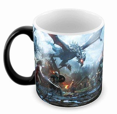 Caneca Mágica - Skyrim Dragão