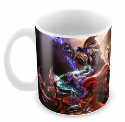 Caneca Branca - League of Legends - Varios