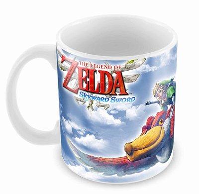Caneca Branca - Zelda