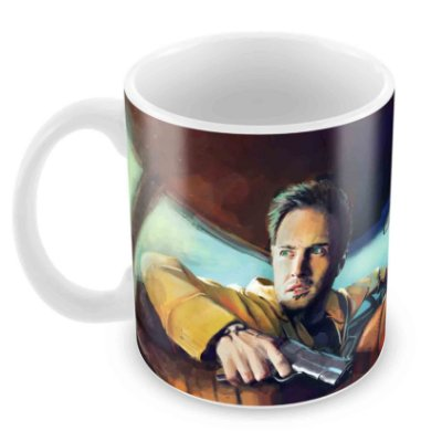 Caneca Branca - Breaking Bad - Jesse