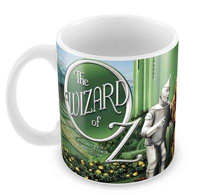 Caneca Branca - Mágico de Oz - Elenco