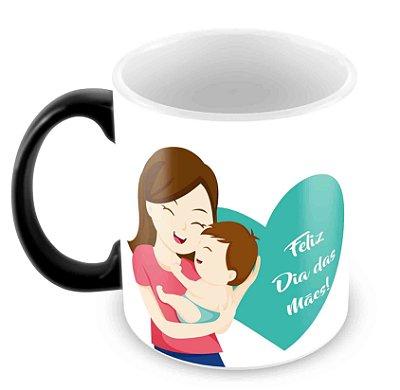 Caneca Mágica - Dia das Mães -Mod 5
