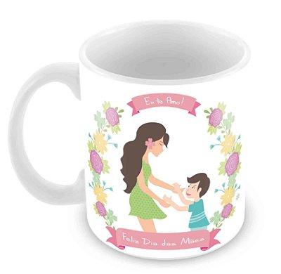 Caneca Branca - Dia das Mães -Mod 16