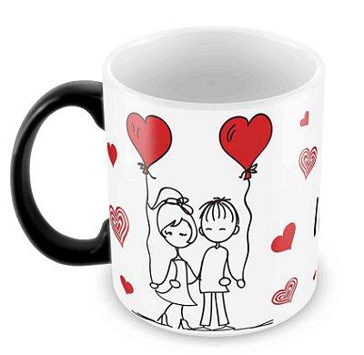 Caneca Mágica Dia dos Namorados - Mod 23