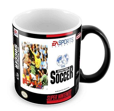 Caneca Mágica - SNES - Fifa International Soccer