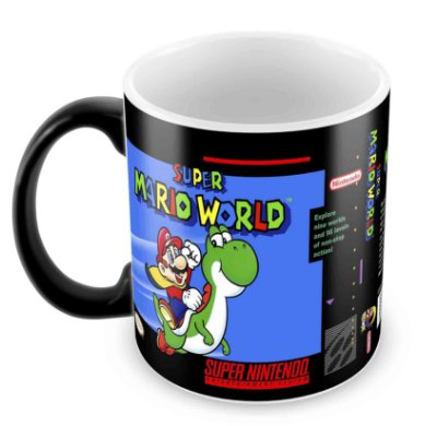 Caneca Mágica - SNES - Super Mario World