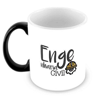 Caneca Mágica - Profissões - Engenharia Civil