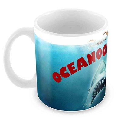 Caneca Branca - Profissões - Oceanografia 2