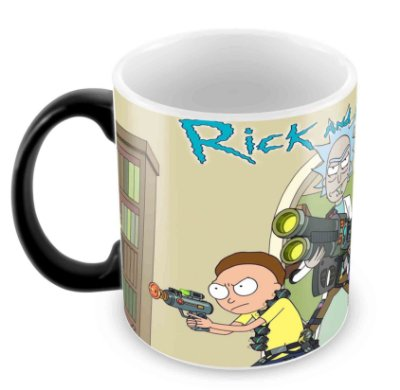 Caneca Mágica - Rick and Morty 3