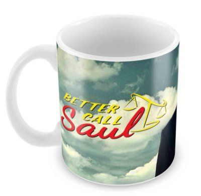 Caneca Branca - Better Call Saul