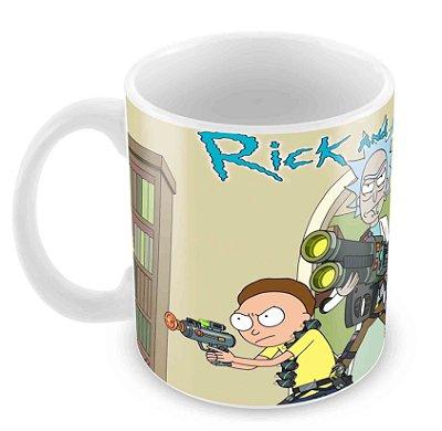 Caneca Branca - Rick and Morty 3