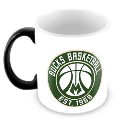 Caneca Mágica - NBA - Milwaukee Bucks