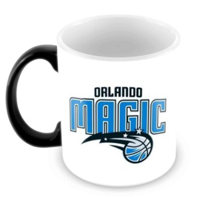 Caneca Mágica - NBA - Orlando Magic