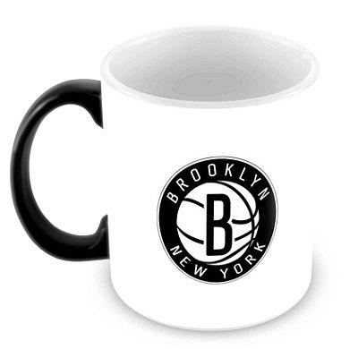 Caneca Mágica - NBA - Brooklin Nets