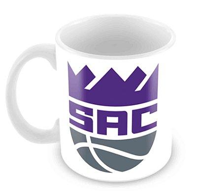 Caneca Branca - NBA - Sacramento Kings