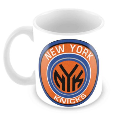 Caneca Branca - NBA - New York Knicks