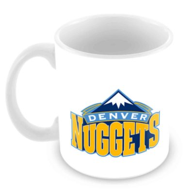 Caneca Branca - NBA - Denver Nuggets