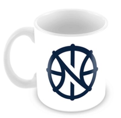 Caneca Branca - NBA - New Orleans Pelicans
