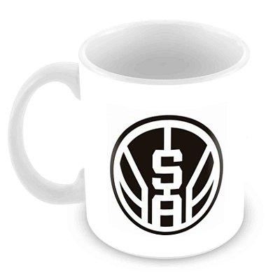 Caneca Branca - NBA - San Antonio Spurs