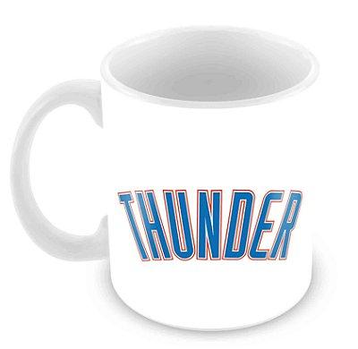 Caneca Branca - NBA - Oklahoma City Thunder