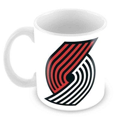 Caneca Branca - NBA - Portland Trail Blazers