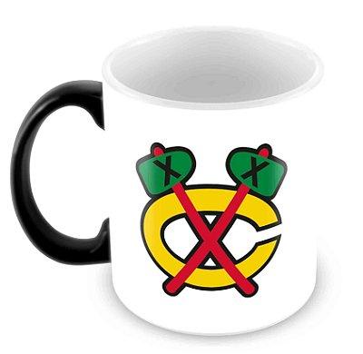 Caneca Mágica - NHL - Blackhawks