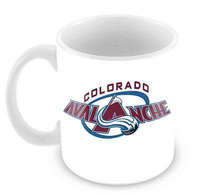 Caneca Branca - NHL - Avalanche