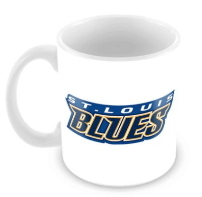 Caneca Branca - NHL - Blues