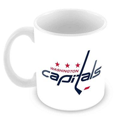 Caneca Branca - NHL - Capitals