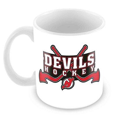 Caneca Branca - NHL - Devils