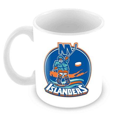 Caneca Branca - NHL - Islanders