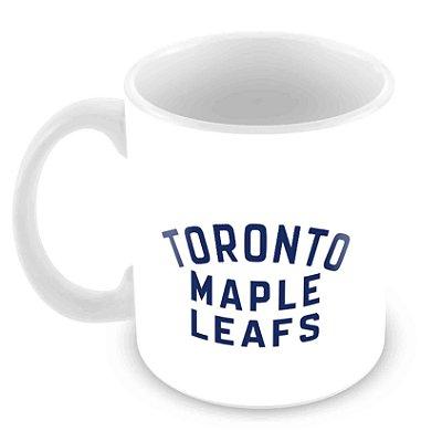 Caneca Branca - NHL - Leafs