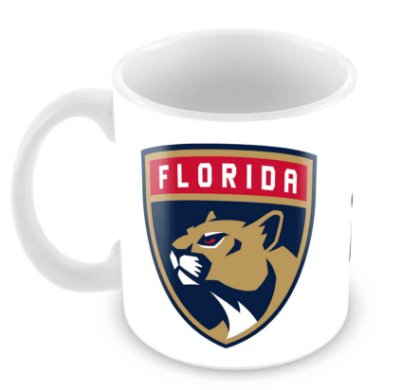 Caneca Branca - NHL - Panthers
