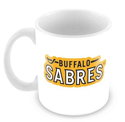 Caneca Branca - NHL - Sabres2